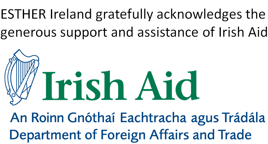 ESTHER Ireland gratefully acknowledges the support and assistance of Irish Aid