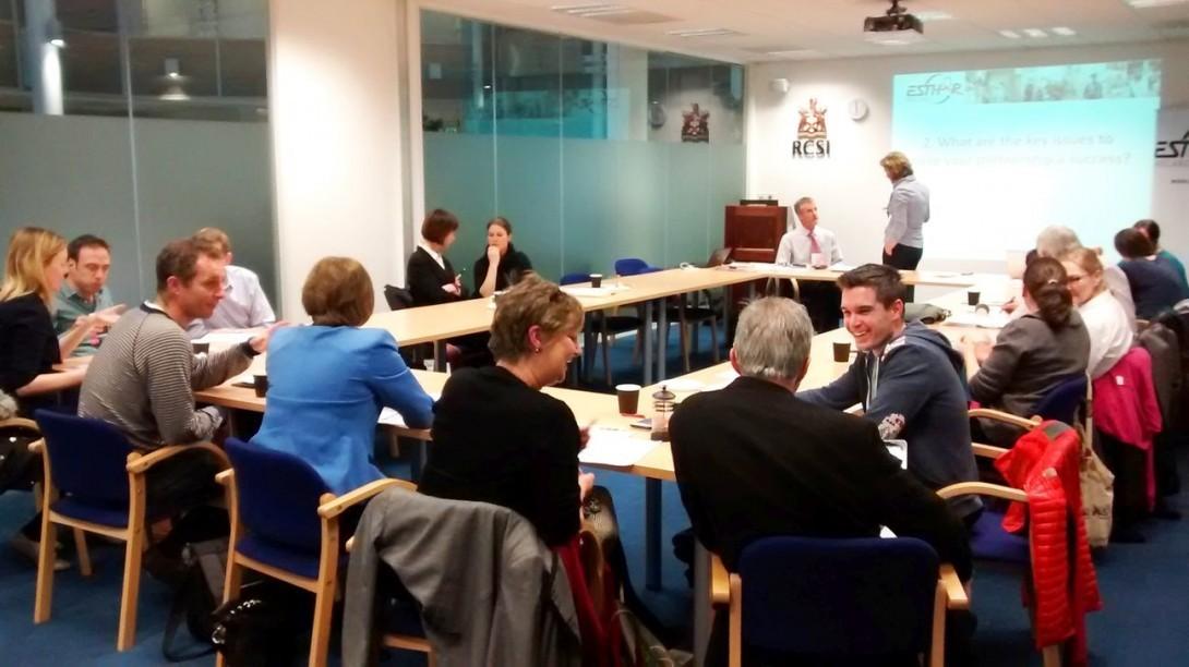 Participants ESTHER Workshop March 2015